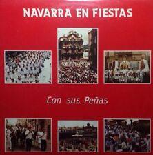 NAVARRA EN FIESTAS CON SUS PEÑAS Lp Vinilo nuevo 1987