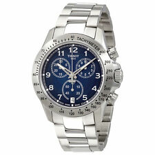 New Tissot V8 GTS Blue Dial Chronograph Mens Watch T1064171104200