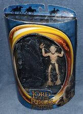 LORD OF THE RINGS RETRUN OF THE KING SUPER POSEABLE GOLLUM SET W/CRAWLING ACTION