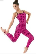 Balera Small Adult Pink/black Unitard
