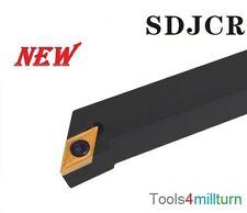 Drehmeißel Drehen SDJCR 2020 K11 mit 10 Wendeschneidplatten NEU