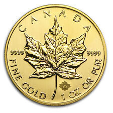 2014 1 oz Gold Canadian Maple Leaf Coin - Brilliant Uncirculated - SKU #79032