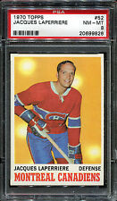 1970 Topps #52 Jacques Laperriere PSA 8