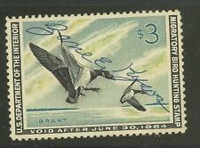 RW30 1963 Federal Duck Stamp Used No Faults-EBAY Store Lowest-Offer? FREE S/H Ex