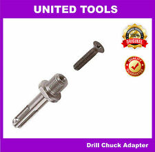 "Hex Nut SDS Plus Shank Drill Chuck Adapter ½"" Thread"