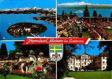 Tropeninsel Mainau im Bodensee , Ansichtskarte 1978 gelaufen