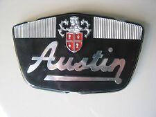 BMC AUSTIN MINI 7 NOS BONNET BADGE     24G1201  VERY RARE GENUINE OE PART NOS