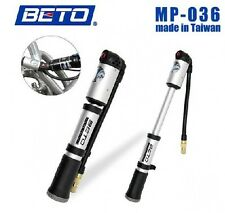 BETO Bicycle 2 Sections Bike Pump Shock Absorber Tire Pressure Gauge 2 Mode H1S