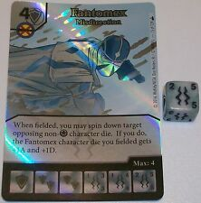 Foil FANTOMEX:MISDIRECTION 15 Dice Masters