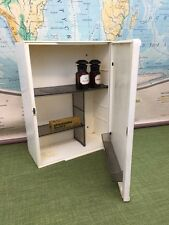 Vintage Bathroom Cabinet Made In Germany Plastic Retro Cupboard With Mirror