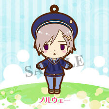 Hetalia Axis Powers Norway Rubber Phone Strap Vol. 2 Rerelease