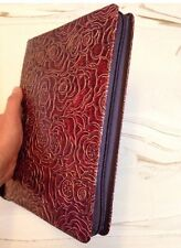 PIONEER SERVICE FOLDER, COPPER RED ROSE, Jehovah's Witness