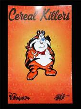 POPAGANDA: CEREAL KILLERS SERIES FAT TONY LAPEL PIN BY RON ENGLISH