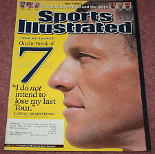 SPORTS ILLUSTRATED, 06/20/2005,LANCE ARMSTRONG PURSUES 7 STRAIGHT TOUR DE FRANCE