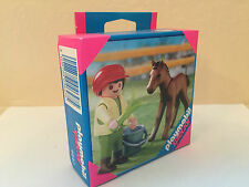 Playmobil Special 4647 Child with Foal-RARE Hard to Find