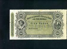 Uruguay Londres y Rio de la Plata 100 pesos 1862 - XF-
