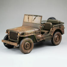1:18 Scale 1/4 Ton US ARMY WILLYS JEEP TOP DOWN Diecast Car Model,Welly18036
