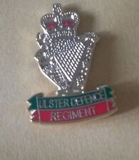 ULSTER DEFENCE REGIMENT Enamel BADGE UDR BRITISH ARMY Infantry and Military