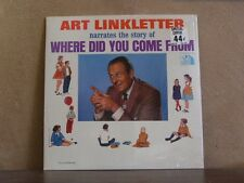 ART LINKLETTER, WHERE DID YOU COME FROM - LP TFM 3107