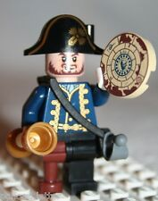 Lego HECTOR BARBOSSA MINIFIGURE from Pirates Caribbean Fountain of Youth (4192)