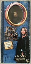 """Lord of the Rings Return of the King Special Edition Aragon Toy Biz In Box 12"""""""