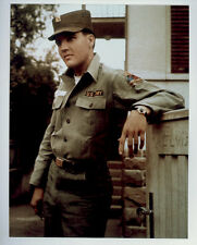 ELVIS PRESLEY POSTER PAGE . ARMY UNIFORM IN GERMANY . NOT CD DVD M32