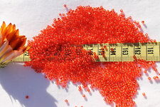11/0 Toho Seed Beads 203-Silver Lined Lt Siam Ruby/28 grams # 25