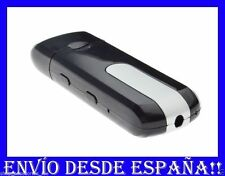 MINI CAMARA VIDEO PENDRIVE ESPÍA  VÍDEO SENSOR MOVIMIENTO FOTOS Y AUDIO