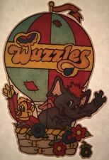 Vintage Wuzzles Iron-On T-Shirt Heat Transfer Animal Fantasy Cartoon