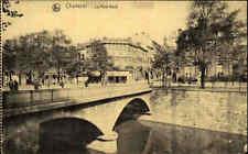 Feldpostkarte 1. WK Charleroi 1917 mit Stempel Remagen nach Ober-Pfaffendorf gel