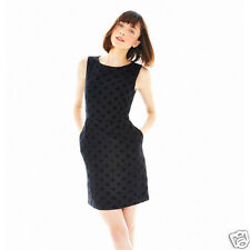 JOE FRESH Sleeveless Polka Dot Dress Juniors Size 10 New Msrp $49.00