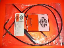 AERMACCHI HARLEY AMF NOS THROTTLE CABLE ASSEMBLY 56343-78P 1978 SS250