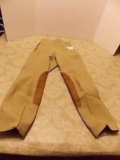 TAILORED SPORTSMAN LADIES SUPREME HUNTER BREECHES #1981 GREEN BEIGE 22S