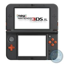 NEW NINTENDO 3DS XL - Consola color naranja y negro