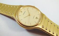 Lassale by Seiko Gold Tone Stainless Steel 9552-7000 Sample Watch NON-WORKING
