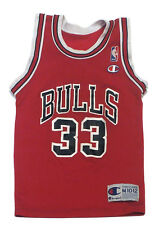 SCOTTIE PIPPEN #33 Chicago Bulls Vintage Champion NBA Youth Jersey M