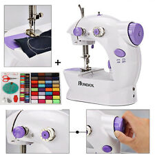 Portable Mini Handheld Electric Sewing Machine+100 PC Threader Needle Sewing Kit