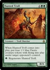 MTG Magic RAV FOIL - Hunted Troll/Troll au rabais, English/VO