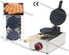 Commercial Use Nonstick LPG Gas Egg Waffle Maker Hongkong Eggette Baker Machine