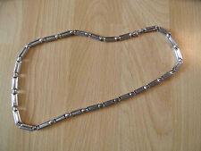 PIERRE CARDIN schöne Stahl Halskette silber NEU NP 169,-- HMI316