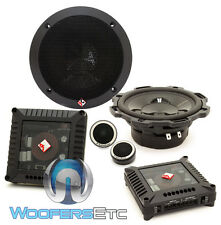 "ROCKFORD FOSGATE POWER T152-S 5.25"" COMPONENT SPEAKERS TWEETERS CROSSOVERS NEW"
