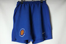 VINTAGE MANCHESTER UNITED THIRD FOOTBALL SHORTS 08-09 YOUTHS NIKE RARE