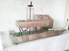 Aluminum foil bottle continuous induction sealing machine,Max 160 bottles/min BG