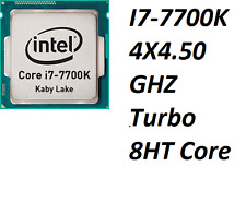 Intel Core I7-7700K / 4 X 4.20 GHZ / 8HT / Turbo 4.50 GHZ / 1151 Kaby Lake / Top