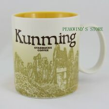 China Kunming 16oz Starbucks Coffee Collectible Series Ceramic City Mug