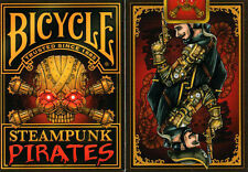CARTE DA GIOCO BICYCLE STEAMPUNK PIRATES,poker size