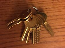Master M10 Padlock Depth Keys Brass Space Keys