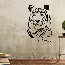 Wall Stencils Tiger Stencil Template for GRAFFITI  better than wallpaper decals