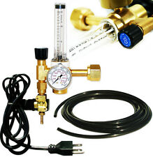 CO2 FLOW METER REGULATOR INJECTION RELEASE SYSTEM EMITTER SOLENOID CONTROLL