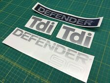 Land Rover Defender 90 Tdi Restoration Decals Stickers Graphics TD5